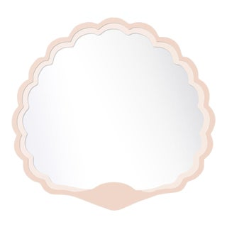 Fleur Home x Chairish Carnival Proteus Mirror in Pink Ground, 36x33 For Sale