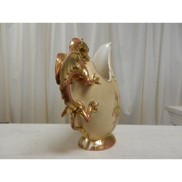 Vintage Ewer With Griffin Handle - Image 4 of 6