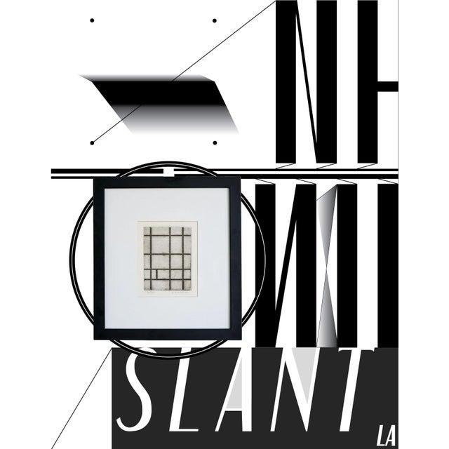 Slant select -- Untitled P. Mondrian - Image 2 of 4