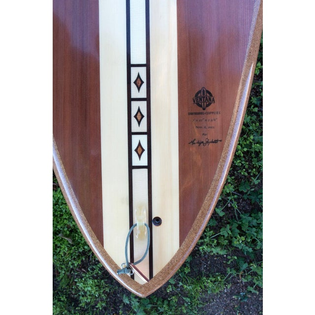 Reclaimed Hollow Wood Surfboard by Ventana - Image 5 of 7
