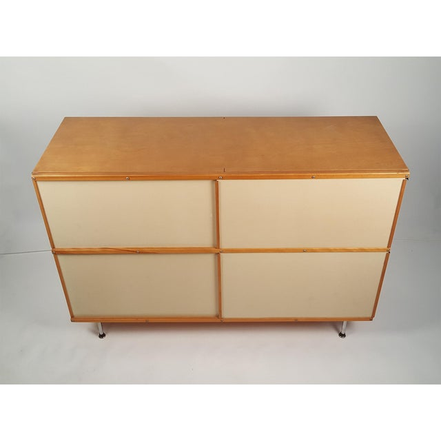 Early ESU 200 Storage Unit by Charles & Ray Eames for Herman MIller For Sale In Dallas - Image 6 of 11