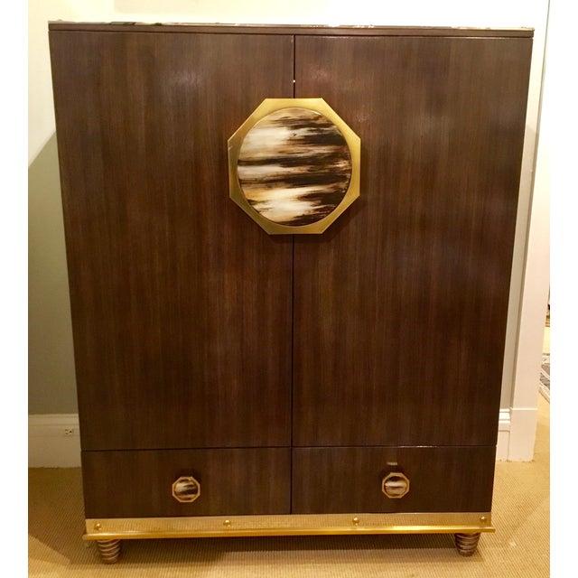 Modern Henredon Bihuber Barclays St. Bar Cabinet For Sale - Image 10 of 10