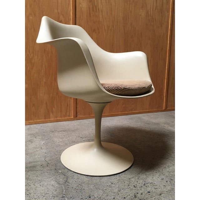 Vintage Mid Century Eero Saarinen for Knoll Dining Chairs- Set of 6 For Sale In Los Angeles - Image 6 of 12