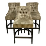 Image of Ballard Designs Gentry Counter Stools - Set of 3 For Sale