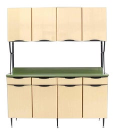 Image of Kitchenette Storage Cabinets and Cupboards