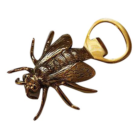Solid Brass Bee Bottle Opener - Image 1 of 3