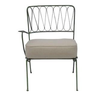 1950s Salterini Single Arm Corner Indoor Outdoor Chair For Sale