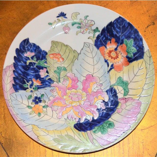 Tobacco Leaf Porcelain Display Platter For Sale In Houston - Image 6 of 6
