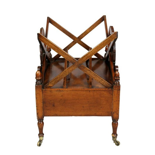 Brown William IV Mahogany Canterbury For Sale - Image 8 of 11
