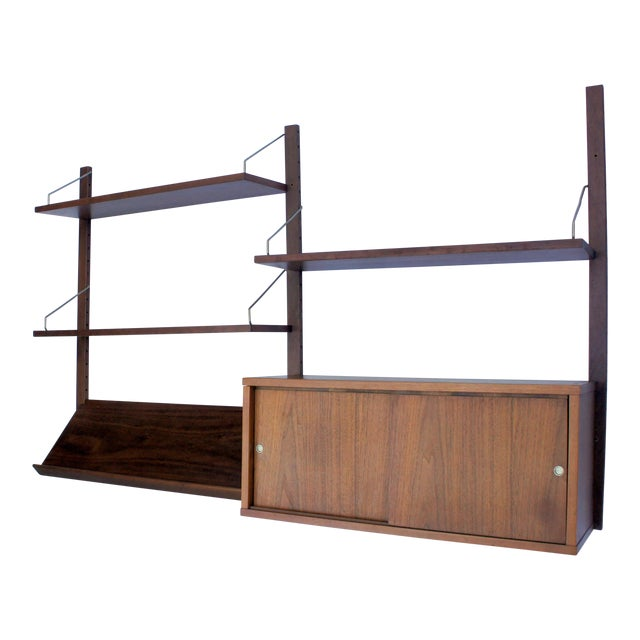1960s Vintage Poul Cadovius Cado Royal System Wall Unit For Sale