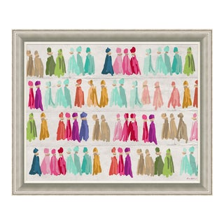 """Sari Thread"" By Dana Gibson, Framed Art Print For Sale"