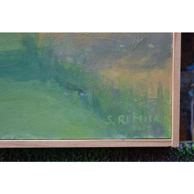 Pastoral Plein Air Contemporary Paintings by Stephen Remick - Set of 3 For Sale - Image 11 of 13