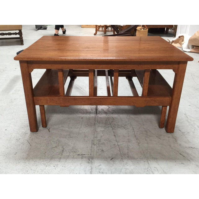 Rose Tarlow Windsor Coffee Table Chairish - Custom size coffee table