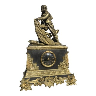 18th Century Vincenti & Cue Pendulum Mantle Clock For Sale