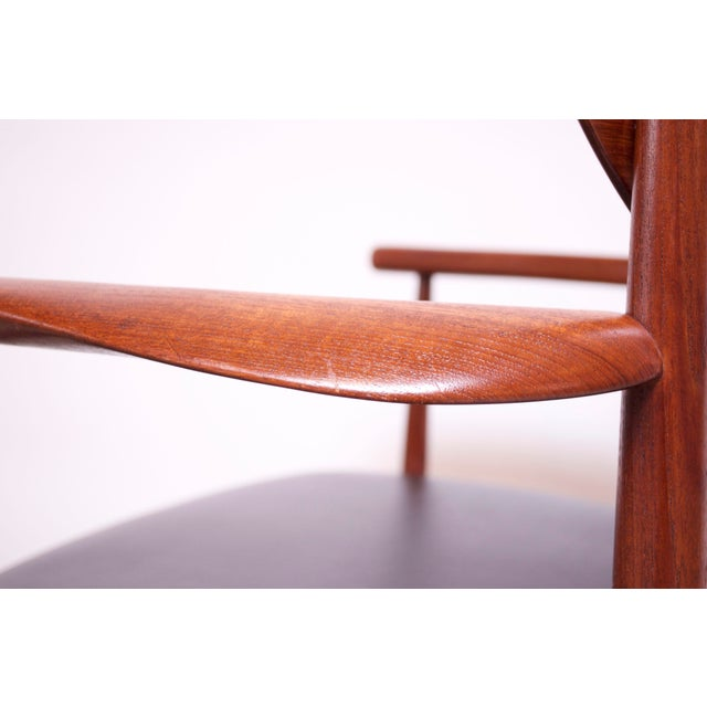 Teak Dining Chairs by Peter Hvidt and Orla Mølgaard Nielsen - Set of 8 For Sale - Image 9 of 13