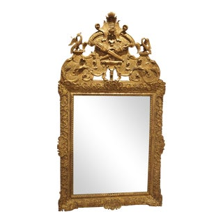 Period Louis XIV Giltwood Mirror, Circa 1700, Provence For Sale