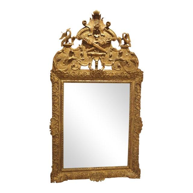Period Louis XIV Giltwood Mirror, Circa 1700, Provence For Sale