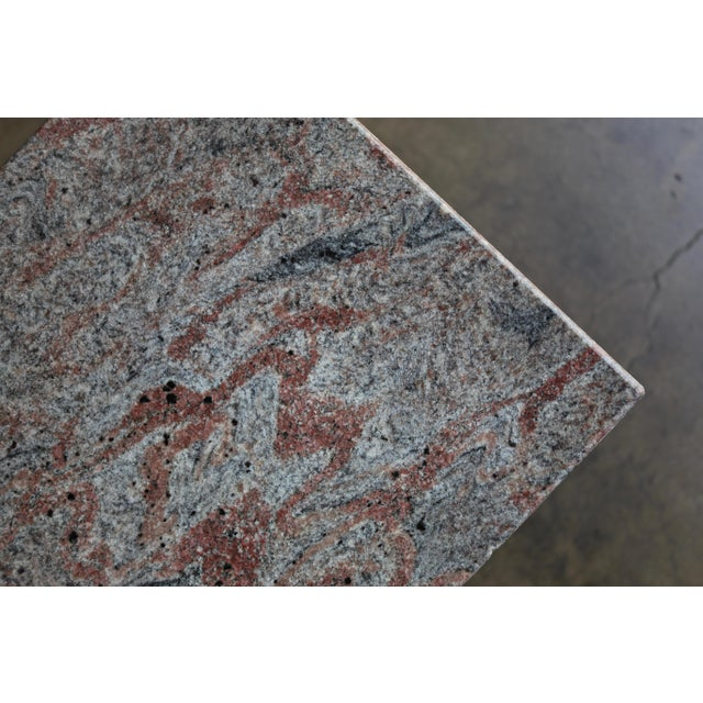 1980s Granite Stone Occasional Tables - a Pair For Sale In Los Angeles - Image 6 of 11