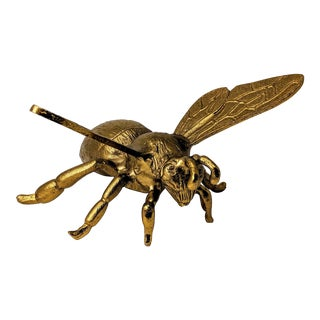 Brass Decorative Bumble Bee Sculpture For Sale