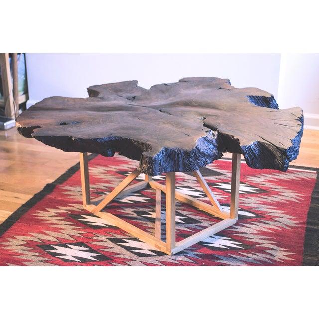 Black Walnut Root Burl Coffee Table - Image 2 of 10