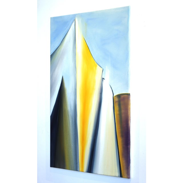 """Cube"" Original Artwork by Bettina Mauel For Sale In Los Angeles - Image 6 of 10"