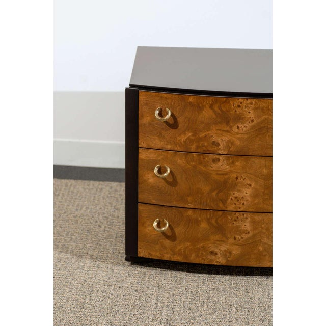 1970s Vintage Pair of Hickory White End Tables/Night Stands For Sale - Image 5 of 11