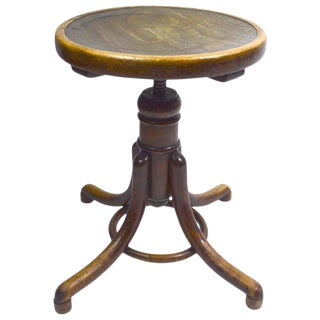 Organ Piano Stool by Thonet For Sale