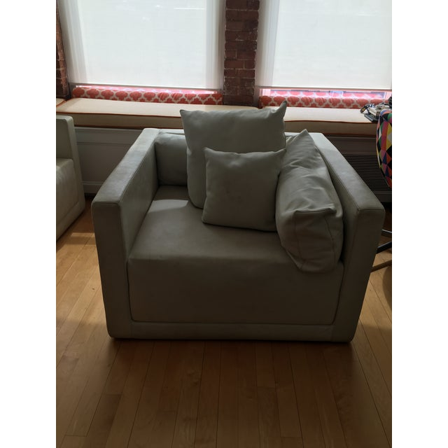 2000s Armani Casa Sydney Chairs - a Pair For Sale - Image 5 of 13