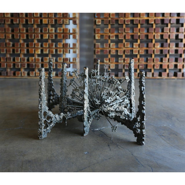 Sculptural Coffee Table by Daniel Gluck For Sale - Image 10 of 10