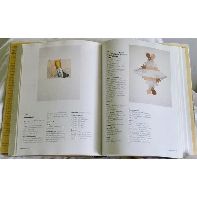 Contemporary Claes Oldenburg: Catalogue Raisonné Book For Sale - Image 3 of 7
