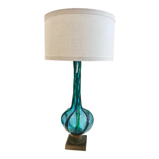 1950s Large Sculptural Murano Lamp For Sale