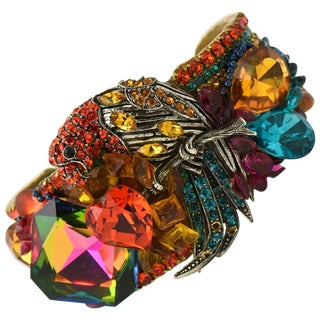 Wendy Gell Parrot Cuff Bracelet For Sale