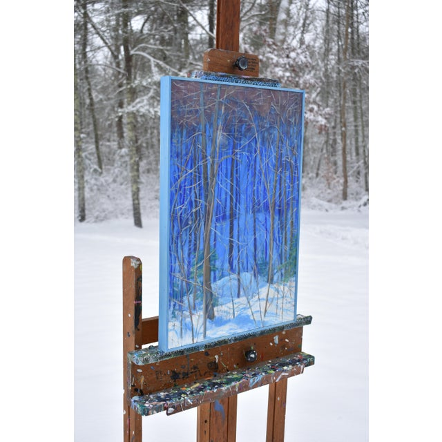 "2010s Stephen Remick Contemporary Painting ""Up and Into the Mountains of Vermont"" For Sale - Image 5 of 13"