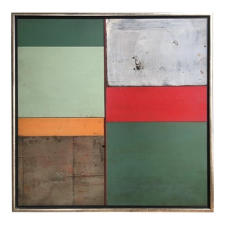 "Richard Rockford ""7 Fields–reimagined"" Sculptural Collage For Sale"