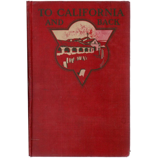 """1903 """"To California and Back"""" Collectible Book For Sale In Atlanta - Image 6 of 6"""