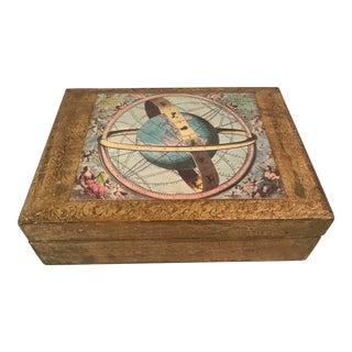 Vintage Italian Florentine Hinged Box