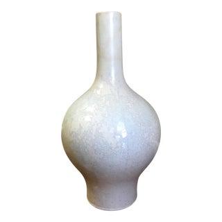 White Glaze Vase