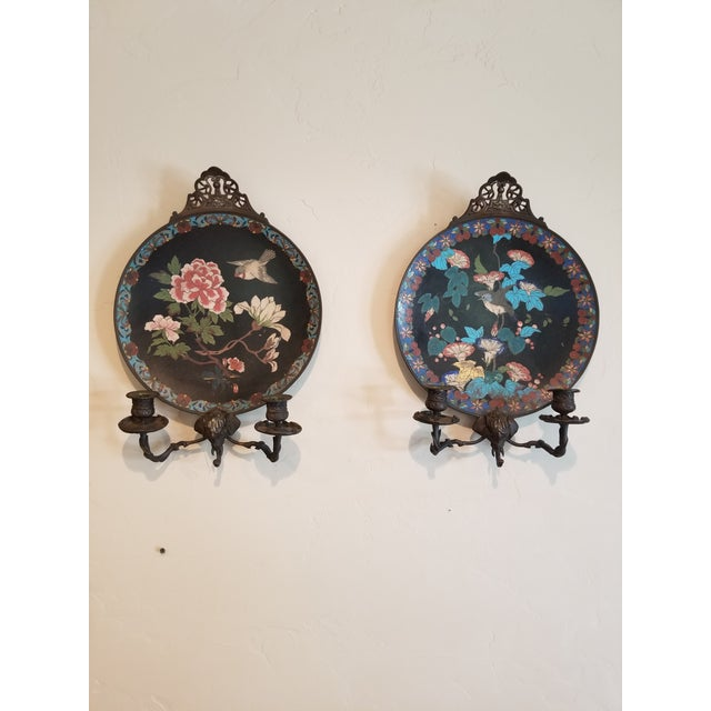 Pair of Cloisene Wall Sconces For Sale - Image 9 of 9