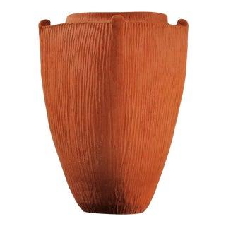 Kähler Art Deco Svend Hammershøi Unglazed Earthenware Vase For Sale