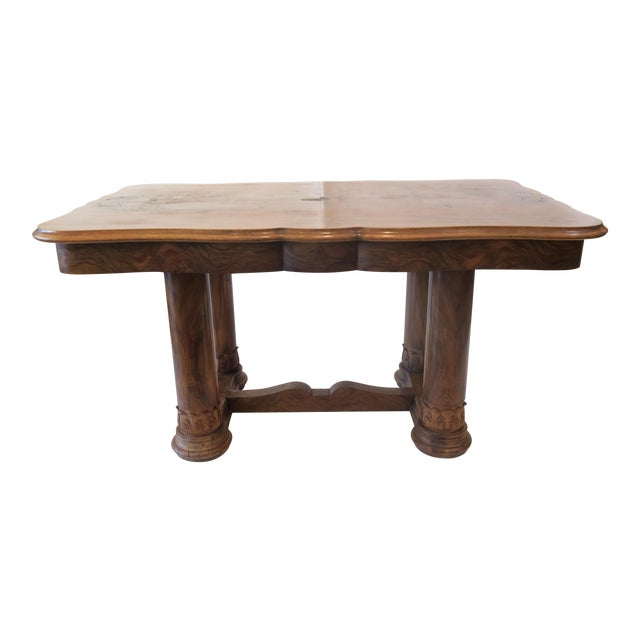 Beidermeier Style Dining Table - Image 1 of 8