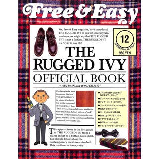 "Free & Easy The Rugged Ivy Official Book ""Autumn And Winter 2012"" For Sale"