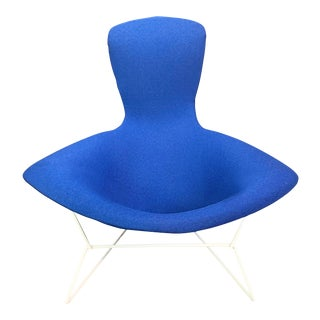 """Vintage Mid Century Modern """"Bird"""" Chair by Harry Bertoia for Knoll For Sale"""
