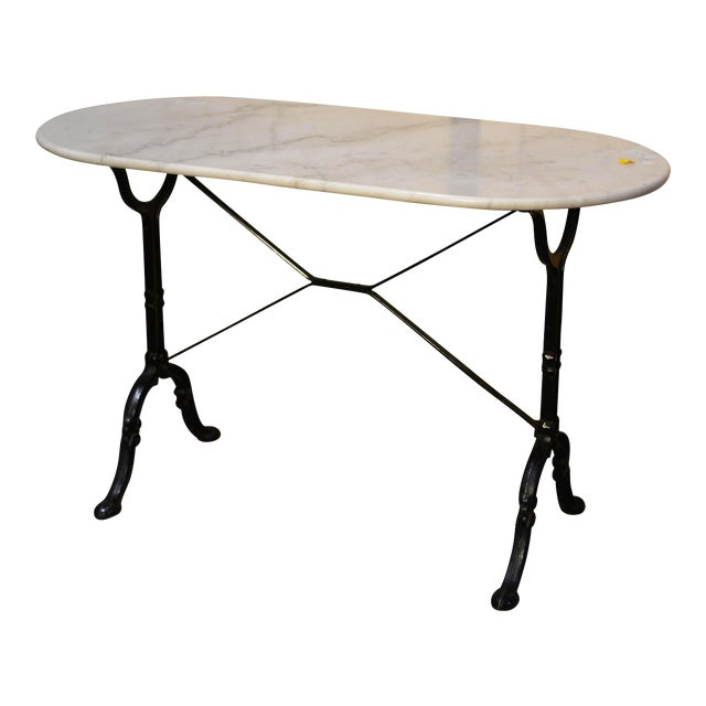 french marble bistro table chairish