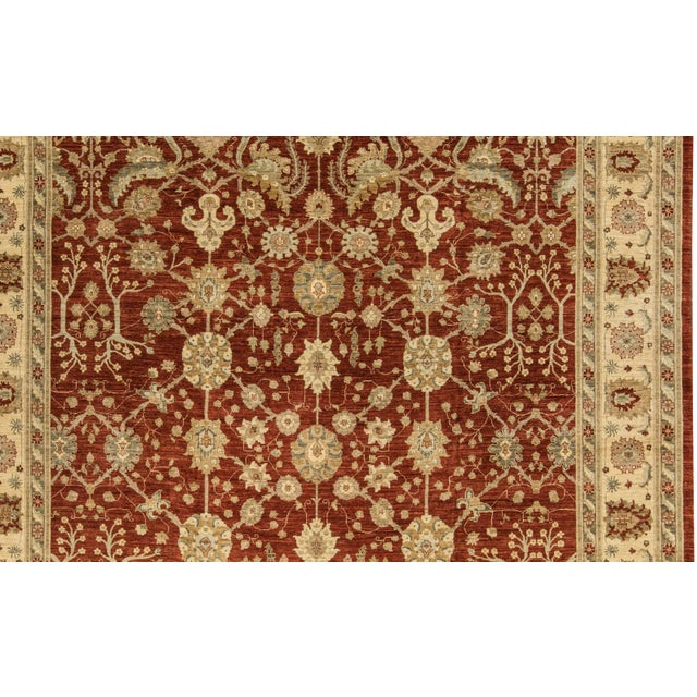 Traditional Hand Woven Rug - 13'3 X 17'6 - Image 2 of 4