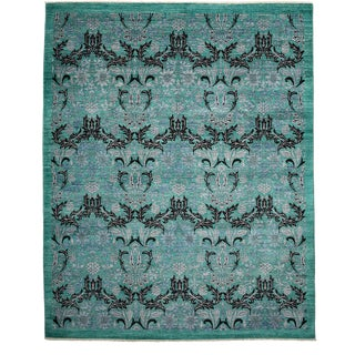 """Arts & Crafts, Hand Knotted Area Rug - 8' 0"""" X 9' 10"""" For Sale"""