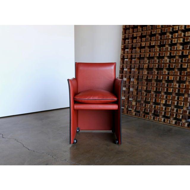 Modern Mario Bellini 'Break' Armchairs - Set of 6 For Sale - Image 3 of 13
