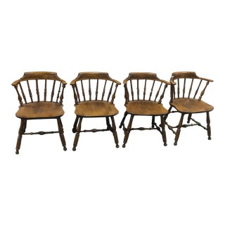 1950s Vintage Nichols and Stone Chairs- Set of 4 For Sale