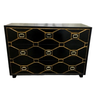 Dorothy Draper Black Viennese Collection Dresser