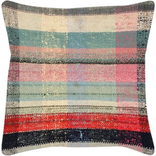"Nalbandian - 1960s Turkish Hemp Pillow - 18"" X 18"" For Sale"