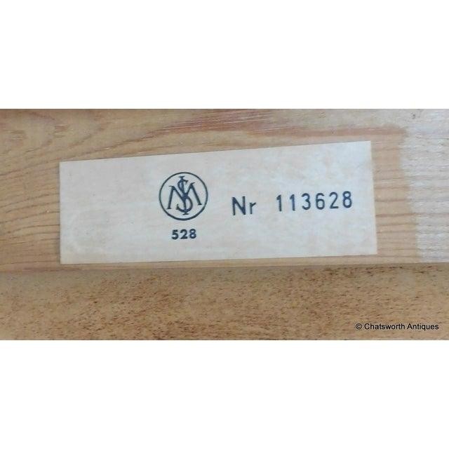 Danish Modern Egon Ostergaard Scandinavian Teak Cylinder Desk For Sale - Image 3 of 9